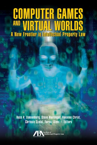 Computer Games and Virtual Worlds: A New Frontier in Intellectual Property Law (Paperback)-cover
