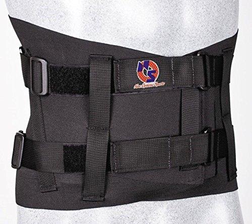 Lumbosacral Orthosis - New Options Sports Lumbosacral Corset Orthosis | Made in USA (Large)