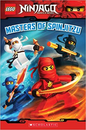 Amazon com: Masters of Spinjitzu (LEGO Ninjago: Reader