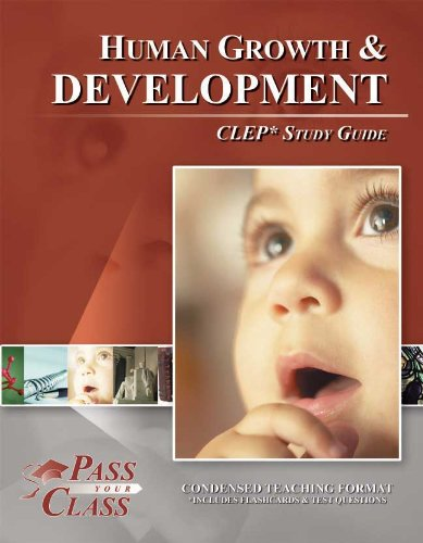 CLEP Human Growth and Development Study Guide (Perfect Bound)