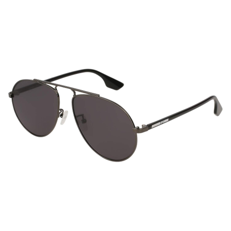 001 RUTHENIUM//GREY BLACK Sunglasses Alexander McQueen MQ 0096 S