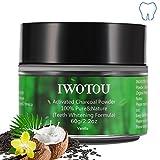 Iwotou Teeth Whitening Charcoal Powder, Natural...