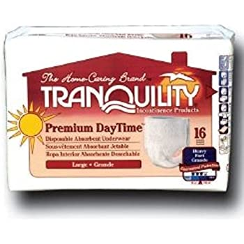 Tranquility Overnight Personal Care Pad, 16.5 Inch, Heavy Absorbency, 2382 - Pack of 24