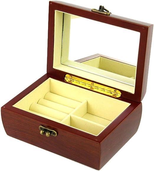 MIIAOPAI-Jewelry Box Caja Joyero, Viaje Mujer Cajas para Joyas De ...