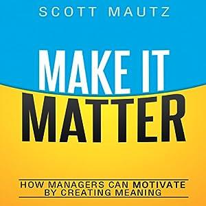 Make It Matter Audiobook