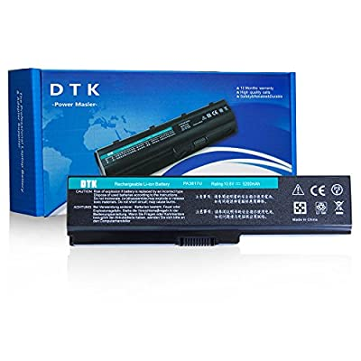 Dtk New Laptop Notebook Battery For Toshiba Computer PA3817U-1BRS PA3817U-1BAS PA3818U PA3819U-1BRS Select Models by DTK