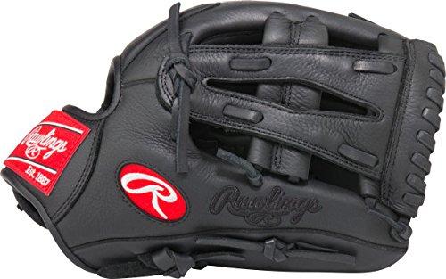 Rawlings Sporting Goods Gamer Digi Camo Mesh Single Post Web Glove, Black, 11.5
