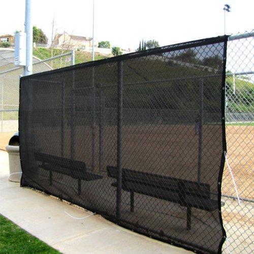 Shade Net Shade Tarp Construction Fence Tarp Dust and Wind Tarp Canopy Shade Panel Koi Pond Screen 14'x16' Black (Multi-Purpose Shade Tarp)