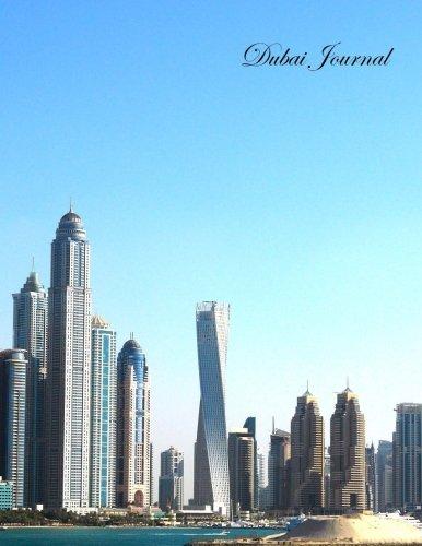 Dubai Journal: de rayas 100+ Páginas: Lunas, día festivo, vacaciones, Funerals, Baby Showers, cumpleaños, aniversarios,...