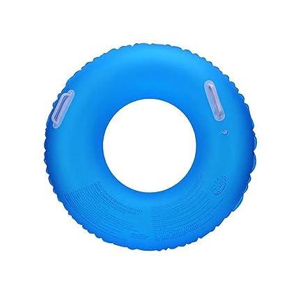 Naviga té 90 cm con Mango Under Brazo Fluorescente Hinchable Flotador (PVC Grueso de natación