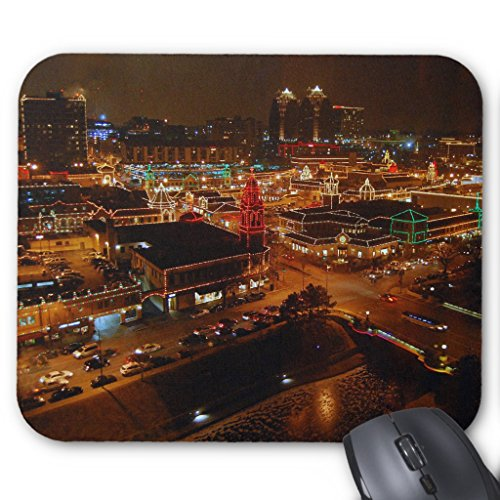 Zazzle Kansas City Plaza Lights Mousepad