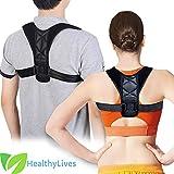 Back Posture Corrector - Adjustable Shoulder and Spine Support, Alignment Correction and Pressure