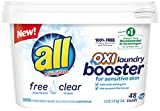 Borax Laundry Detergent all OXI Laundry Booster for Sensitive Skin, Free Clear, 52 Ounces, 48 Loads