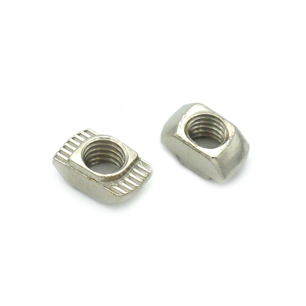 TOPINSTOCK 20x20 European Aluminum Extrusions Slim T-Nut M5 Thread Pack of 100