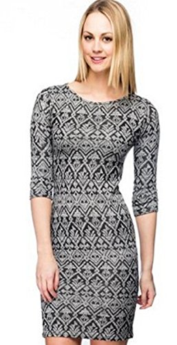 Women's Pattern Midi Dress