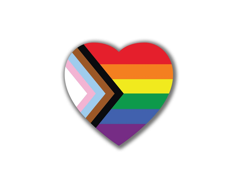''Progress Pride'' Daniel Quasar Stickers (4 Rolls)