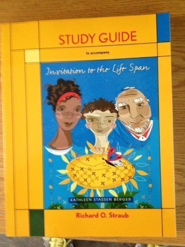 Study Guide For Invitation To The LifeSpan 1st First