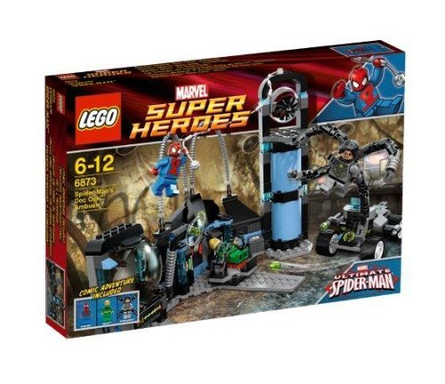 LEGO Super Heroes 6873 Spider Man's Doc Oc Ambush