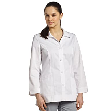 41f2fdab2365 Oasis Allure By White Cross Women's Shirttail 32&Frac78;; Lab Coat XX-Small  White