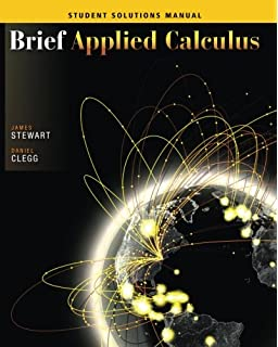 Brief applied calculus james stewart daniel clegg 9780534423827 student solutions manual for stewartcleggs brief applied calculus fandeluxe Image collections