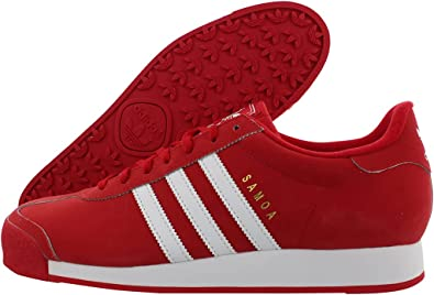 Amazon.com | adidas Mens Samoa Sneakers Shoes - Red | Shoes