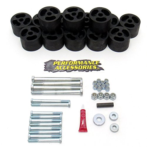 Performance Accessories (613) Body Lift Kit for Dodge Ram