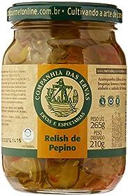 Relish de Pepino Companhia Das Ervas