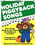 img - for Holiday Piggyback Songs book / textbook / text book