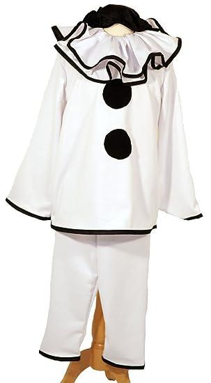 Dance-Stage Show-Halloween-Circus-Pierrot DELUXE BLACK u0026 WHITE CLOWN Childu0027s  sc 1 st  Amazon UK & Dance-Stage Show-Halloween-Circus-Pierrot DELUXE BLACK u0026 WHITE CLOWN ...