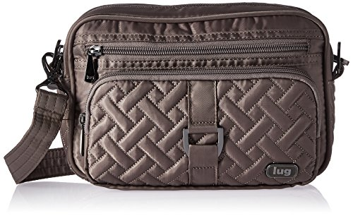 Lug Women's Crossbody Cross Body Bag, WALNUT BROWN, One Size (Lug Purses Handbags)