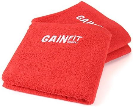 Gainfit Toallas de Gimnasio en un Set de 3 con Bolsillo práctico ...