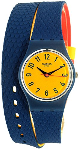 Swatch Women's Check Me Out LN150 Multicolor Rubber Swiss Quartz Watch