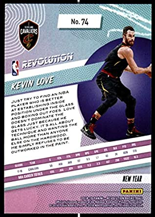 Amazon.com: 2018-19 Revolution Chinese New Year Red Parallel Basketball #74 Kevin Love Cleveland Cavaliers Official NBA Trading Card From Panini: ...