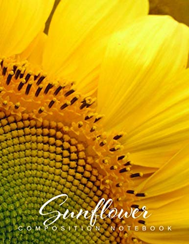 - Sunflower Composition Notebook: Journal Diary, College-Ruled Great For Taking Down Notes At School, Work Or Journaling At Home Or A Travel Diary. ... An Awesome Present For Lovers Of Sunflowers.