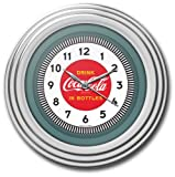 Trademark Gameroom Coca-Cola Chrome Clock, 12'