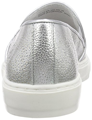 Silver Women's BmecX Bronx Top Low Sneakers 100 Silver PwnBY7q