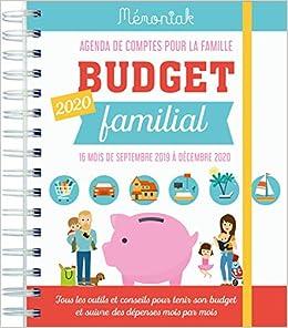 Budget familial : Agenda de comptes pour la famille de ...