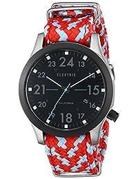 Electric Men's EW0010020042 FW01 Nato Band Analog Display Japanese Quartz Multi-Color Watch