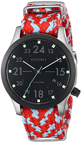 Electric Men's EW0010020042 FW01 Nato Band Analog Display Japanese Quartz Multi-Color - With Love Sunglasses California From