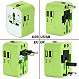 Best Travel Charger For Uses - International Travel Power Adapter Kit,Wacye Universal World Power Review