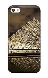 Iphone 5/5s Case Slim [ultra Fit] Louvre Museum Paris Protective Case Cover