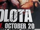 Andrew Golota Signed Mike Tyson vs. Golota 24x36