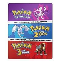 Pokémon: The Movies 1-3 Steelbook Blu-ray Collection