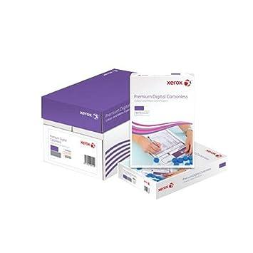 Xerox NCR - Papel autocopiativo para impresoras láser y fotocopiadoras (167 hojas, 3 capas, libre de carbono), color blanco, amarillo y rosa