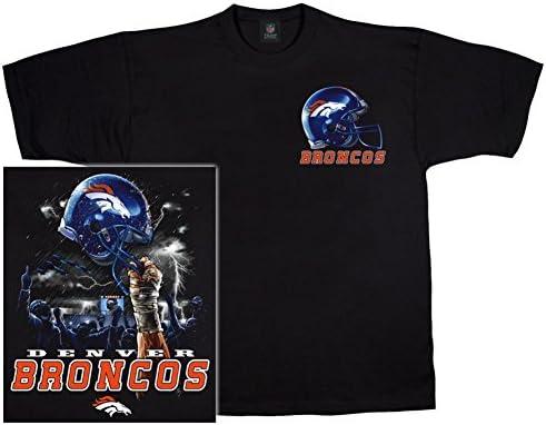 Amazon.com   NFL Denver Broncos Black Helmet to Sky Graphic T-shirt  (Medium)   Sports Fan T Shirts   Sports   Outdoors e086b0672