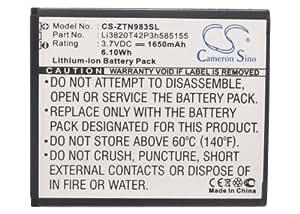 Battery ZTE N983, Li-ion, 1650 mAh