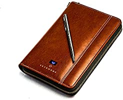 Skyborne: RFID Anti-theft smart travel wallet for men/women/unisex - organizes passports, credit cards, boarding passes,...