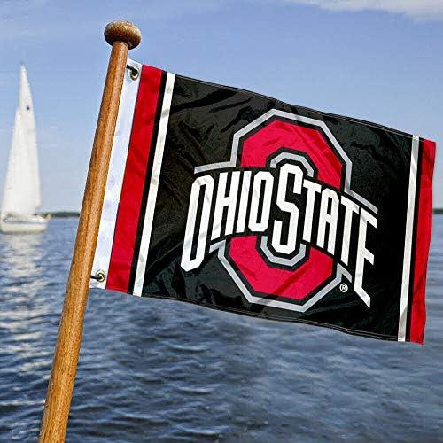 College Flags and Banners Co. OSU - Bandera náutica y Barco: Amazon.es: Deportes y aire libre