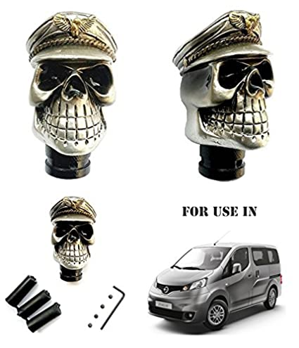 Volga Car Skull Type Gear Shift Knob For Nissan Evalia Amazon In