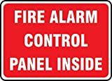FIRE ALARM CONTROL PANEL INSIDE